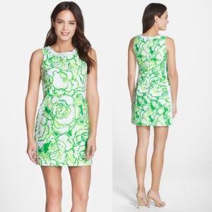 Lilly Pulitzer Mila lace detail shift dress sz 2